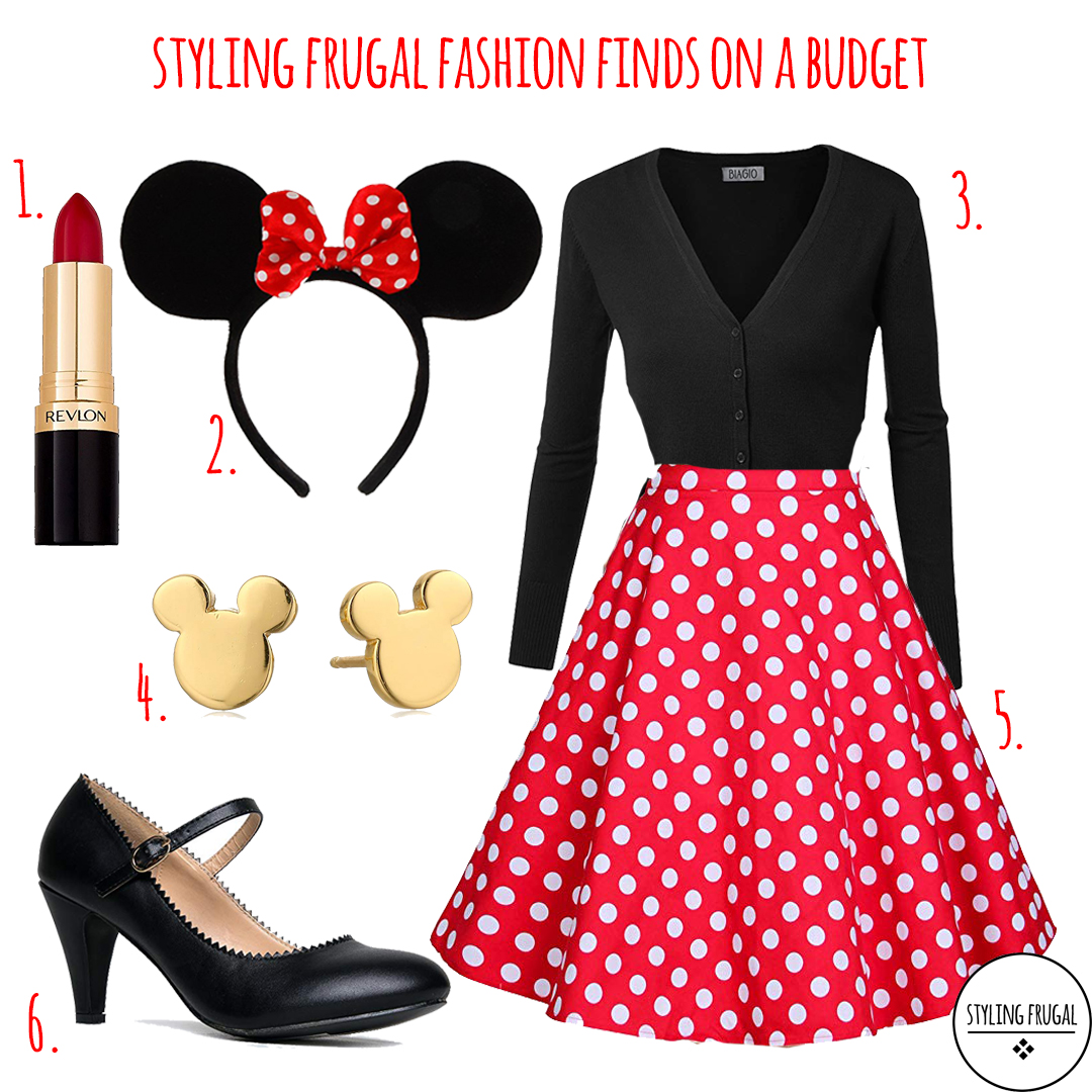 minnie mouse- halloween costume – styling frugal