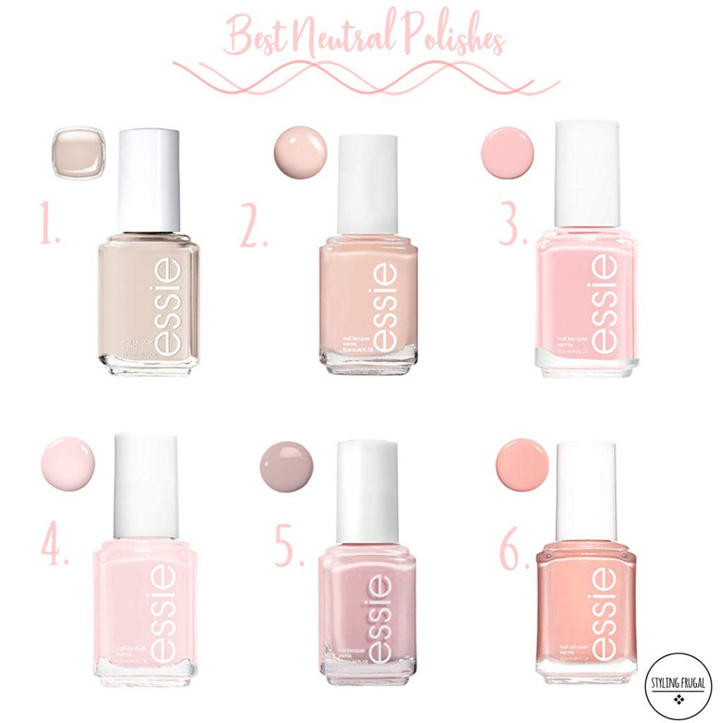 Best Neutral Nail Polish Colors