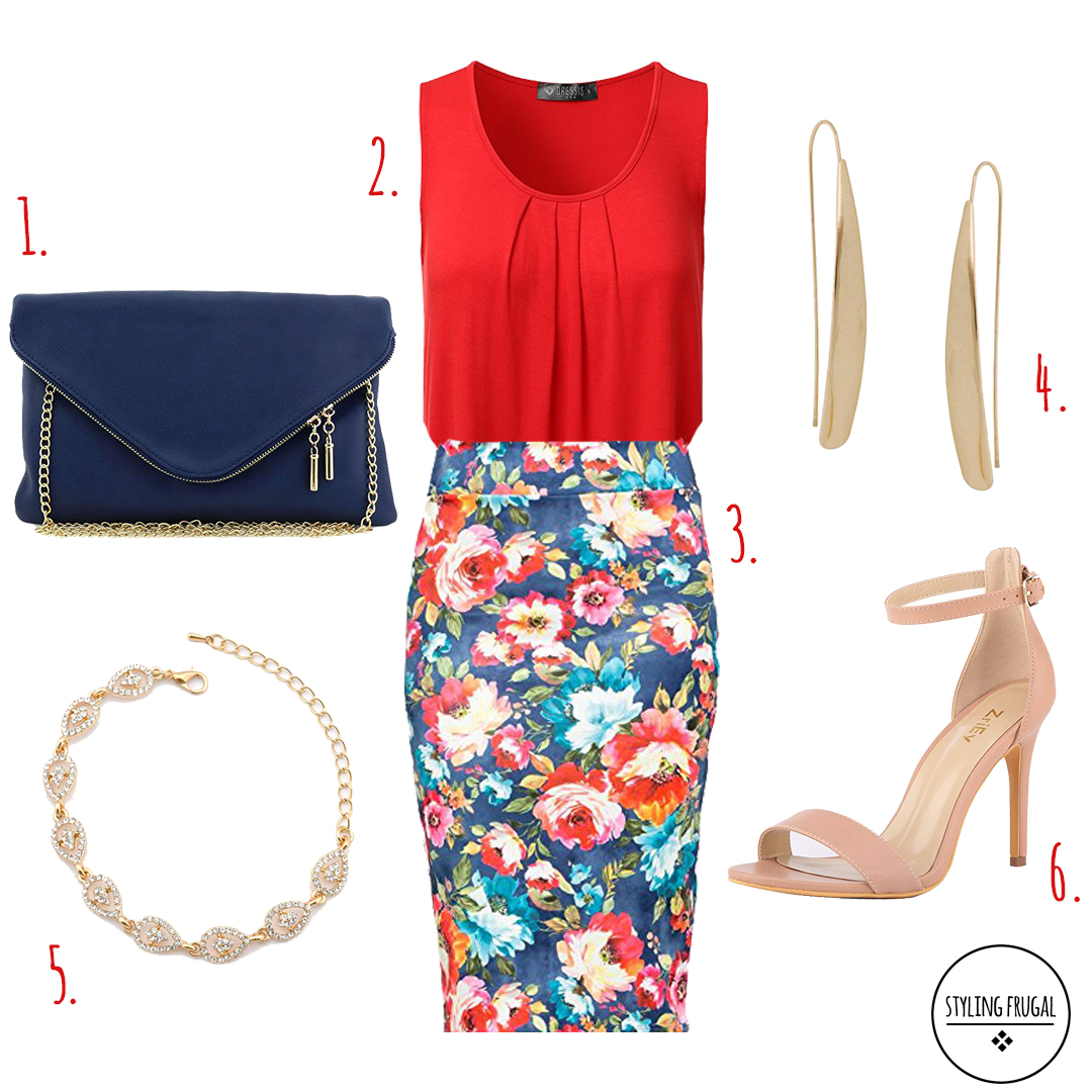 Pencil Skirt Women's Outfit for Work
