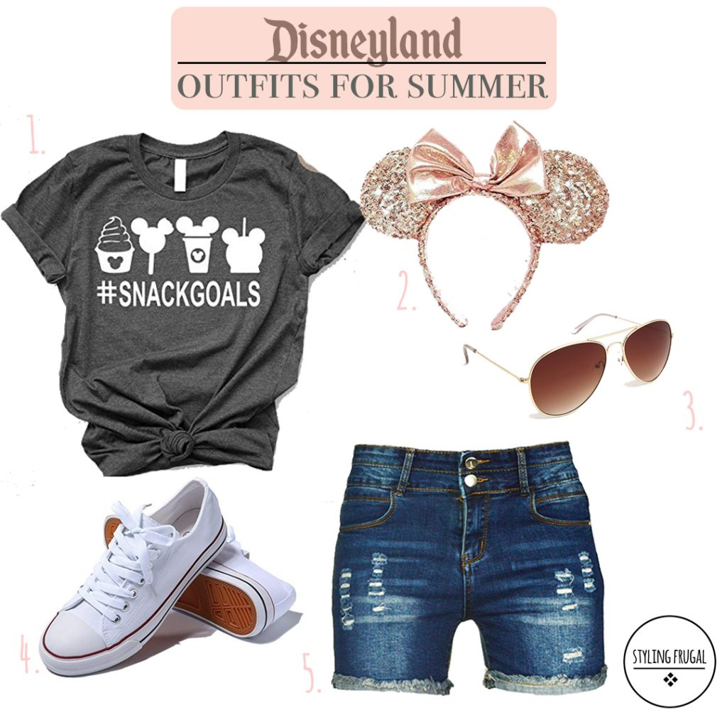What to wear to Disneyland for Women